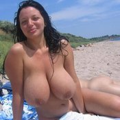 Wonderful female with huge natural tittys photo