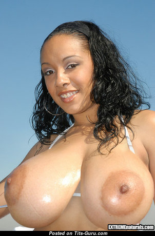 Misti Love Aka Malia Love - Lovely Naked Latina Brunette Babe (Sexual Pic)