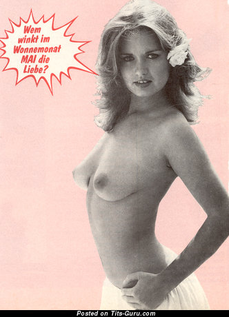 Georgie Steer - Pretty Chick with Pretty Bald Real Medium Balloons (Vintage Porn Foto)
