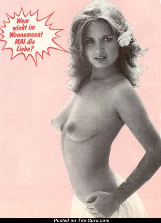 Georgie Steer - Handsome Female with Handsome Open Real Slight Boobies (Vintage Xxx Wallpaper)