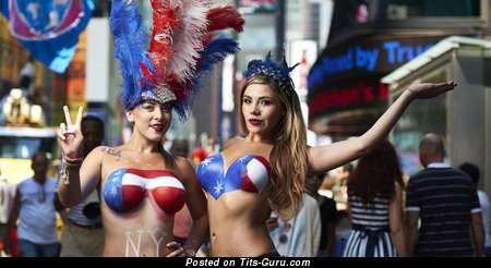 Image. Naked awesome female with medium breast photo