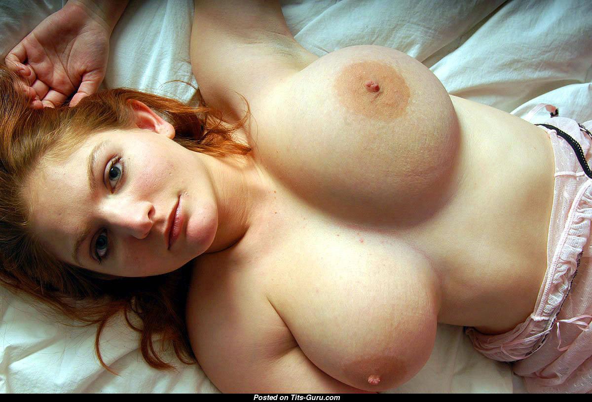Porno on naked breast