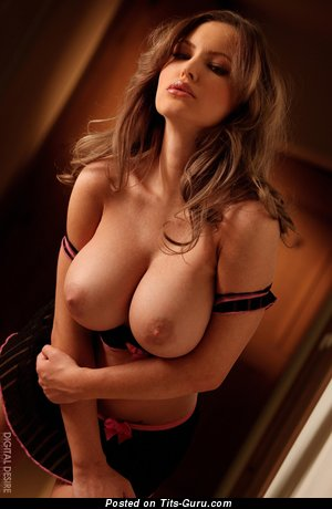 Image. Jenna Presley - nude blonde with big tittes and piercing image