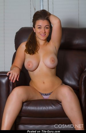 Tiffany Cappotelli - Pleasing American Brunette Babe with Pleasing Exposed Real Dd Size Hooters (Hd Sexual Image)