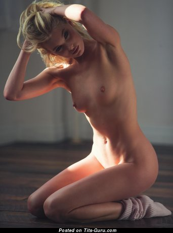 Nude nice girl with natural tots image