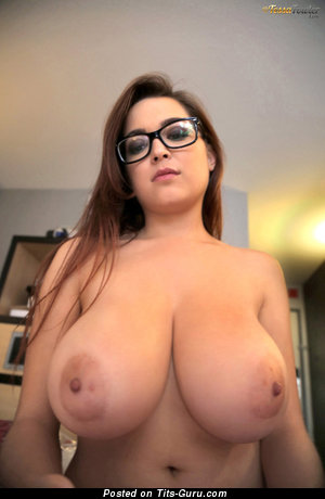 Tessa Fowler & Nice Topless American Brunette & Red Hair Babe & Pornstar with Nice Bare Real Full Knockers & Puffy Nipples (Hd Porn Pic)