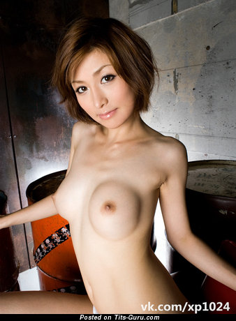 The Nicest Topless Asian Babe with The Nicest Bald Mid Size Busts & Erect Nipples (Hd Xxx Photoshoot)