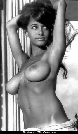 Image. Joyce Gibson - nude amazing girl with big natural breast vintage