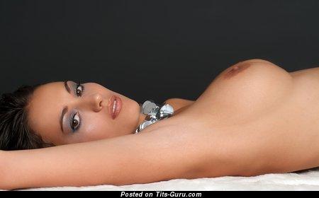 Zsuzsanna Ripli - Delightful Hungarian Lady with Delightful Naked Average Knockers (Hd Xxx Wallpaper)