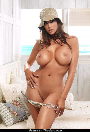 Image. Nude awesome lady with big fake tittes image
