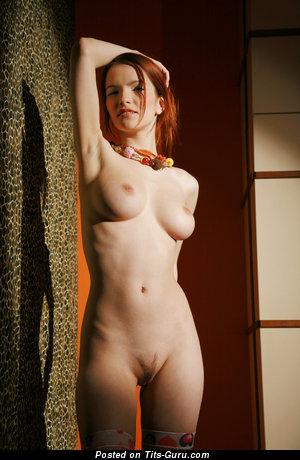 Image. Ulya I - wonderful female with medium natural boobs picture