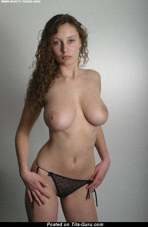 Ashley Spring - Delightful German Gal with Delightful Bare Real Medium Sized Busts (Sexual Picture)