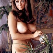 Cynthia Myers - amazing lady with big natural boob vintage