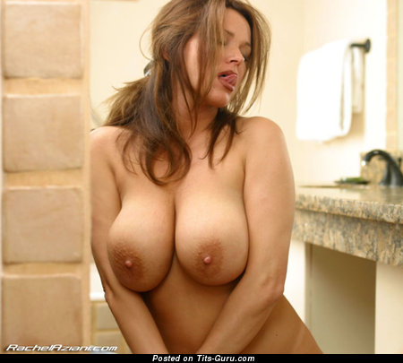 Image. Rachel Aziani - naked hot lady with big natural boob pic
