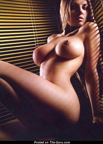 Nude amazing female with natural breast image