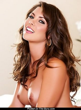 Gia Ramey-Gay - Yummy American Brunette with Yummy Bare Natural Dd Size Tit (Xxx Picture)