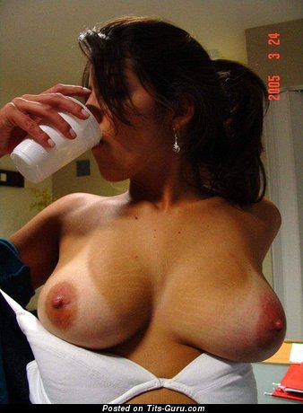 Image. Naked awesome woman with big natural tittes photo