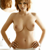Iga Wyrwal - amazing female with big natural breast photo