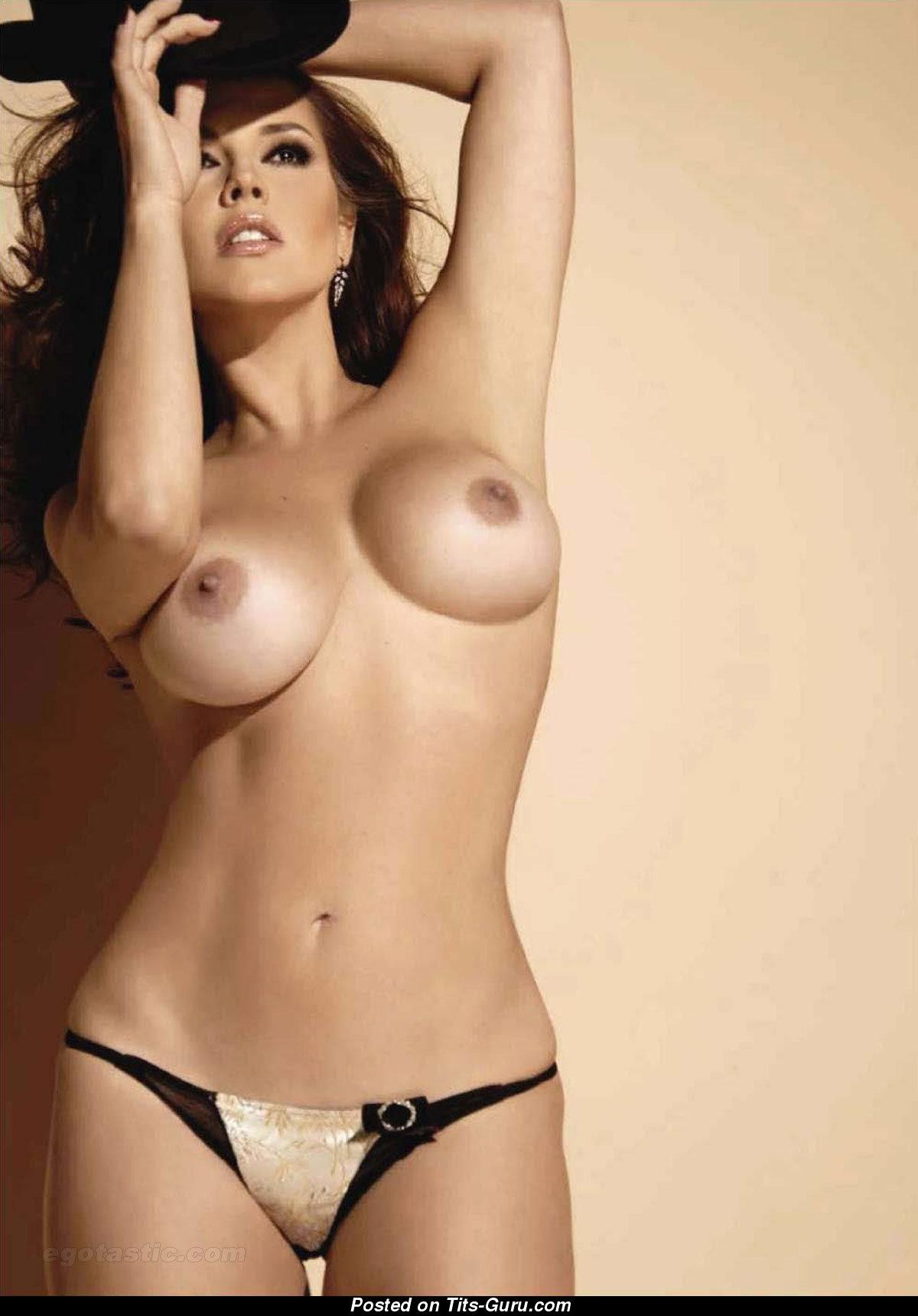Alicia Machado - Latina Red Hair Actress With Bare -8761