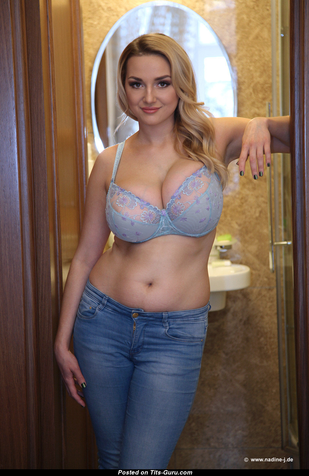Adorable Adriana Porno adriana - blonde with exposed real great tots porn pix