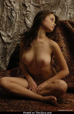 Image. Katia Galitsin - nude hot female with medium natural tittes photo