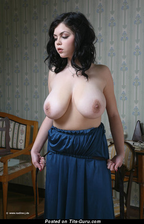 Image. Shione Cooper - brunette with huge natural tittes picture