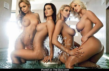 Adrienn Levai, Helga Geszti, Kata Kari, Victoria Svedova - sexy naked awesome lady with medium tits photo