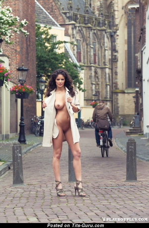 Image. Jade - nude brunette with big natural tittes photo