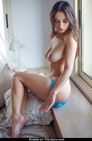 Image. Gloria Sol - naked beautiful girl with medium natural boob photo
