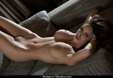 Charming Doxy with Charming Nude Big Tittys (Sexual Wallpaper)