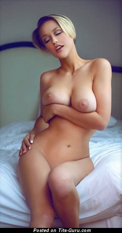 Image. Nude blonde with big boobs photo