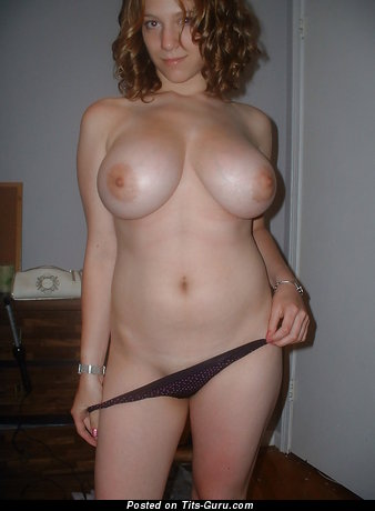 Image. Amateur nude amazing girl with big natural tots photo