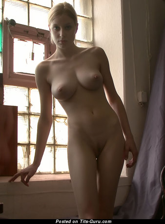 Image. Awesome lady with big natural breast image