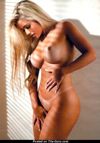 Image. Nude wonderful lady with fake boob photo