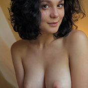 Callista - nice lady with big natural breast photo