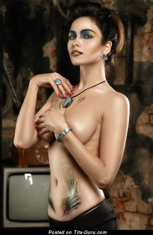 Image. Larisa Krylova - naked beautiful woman with medium natural boobies image