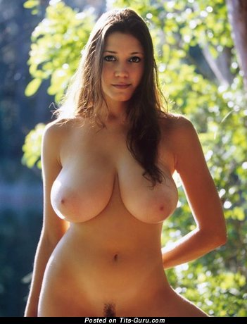 Image. Amazing female with huge natural breast pic