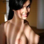 Martisha - awesome woman with medium natural breast image