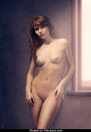 Image. Naked hot lady with small natural tittes photo