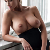 Adorable Babe with Adorable Defenseless Natural Regular Tits (Hd Porn Image)