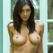 Beautiful female with big breast photo