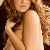 Leanna Decker - red hair with big natural tits photo