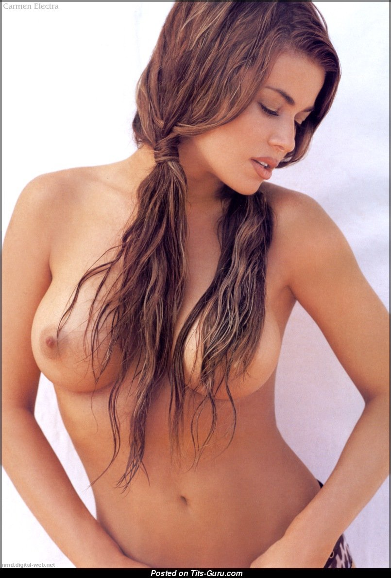 pictures Carmen electra topless