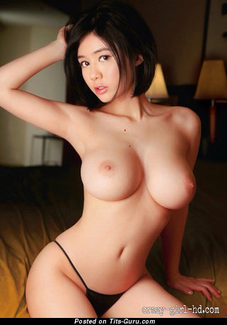 Aimi Yoshikawa - Delightful Japanese Babe with Pleasing Naked Natural Full Boobies (Hd Sex Picture)
