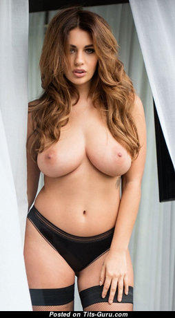Delightful Babe with Delightful Nude Real Average Breasts (Hd 18+ Picture)