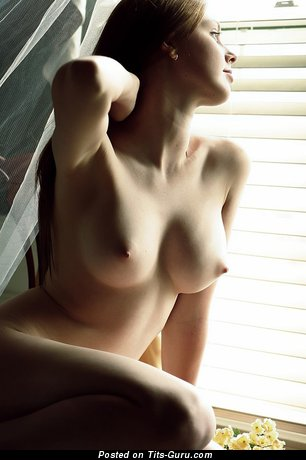 Image. Nude wonderful girl with big natural boobs photo