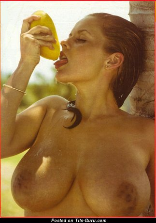 Image. Joan Latem - nude wonderful girl with big natural tots vintage