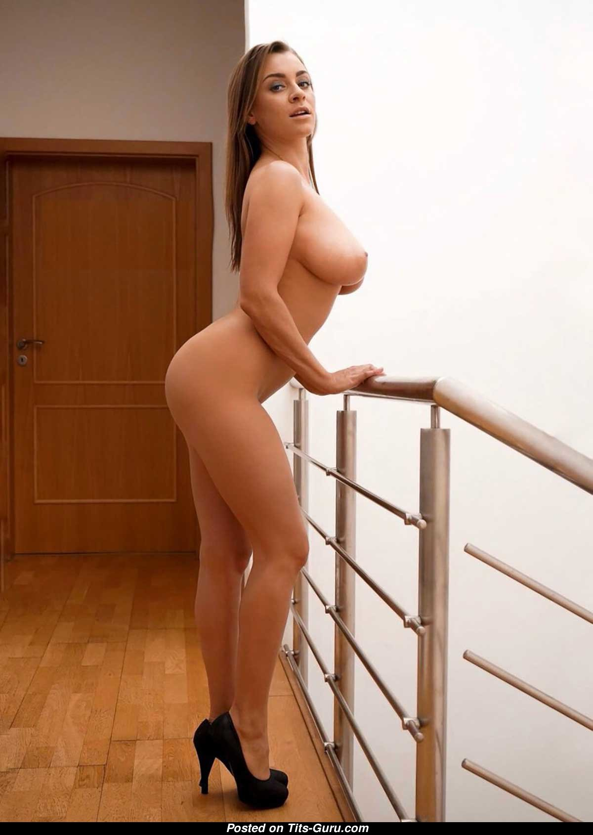 Josephine Jackson - Blonde Babe with Bare Real Medium ...
