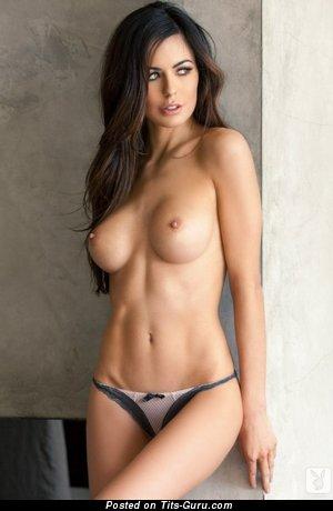 Beautiful Woman with Beautiful Bald Medium Tittys (Porn Pix)