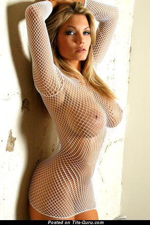 Image. Sexy nude blonde with big boob photo